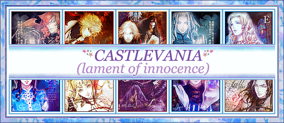 castlevania lament of innocence icons