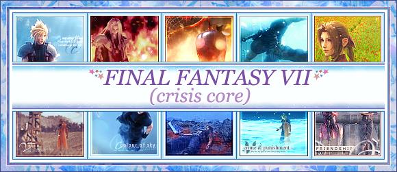 Crisis Core icons